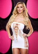 Backroom Mini Dress - White