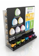 Zolo Pocket Pool Dispenser 42 Piece Display